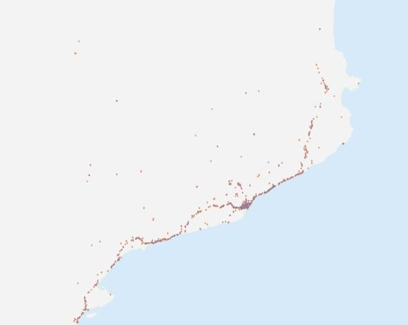 Tuits similares geolocalizados entre las 17:00 y las 19:00 del 11 de septiembre Tuits similares geolocalizados entre las 17:00 y las 19:00 del 11 de septiembre