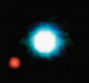 El exoplaneta el 201207b, el primero en ser retratado. / ESA