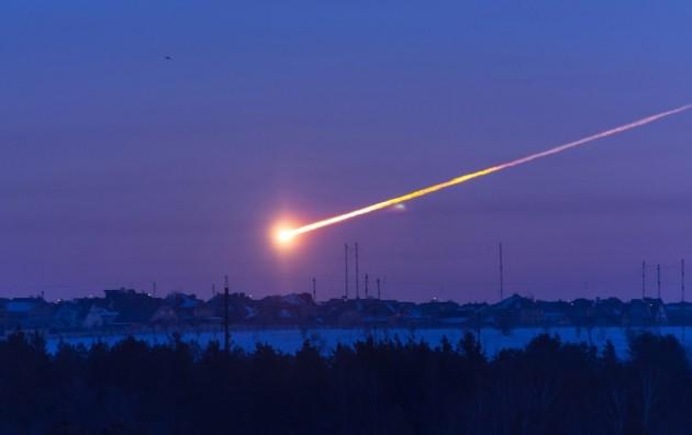 Imagen del meteorito de Cheliábinsk. / Universidad de Virginia (EEUU).